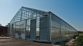 Fotografia de Solia Mix, el secado solar de lodos de �ltima generaci�n de Veolia Water Technologies