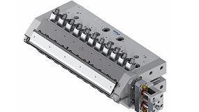Picture of Un cabezal con un innovador ajustador de espesor permite a un extrusor de l�minas mejorar su producci�n