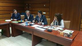 Picture of Su�rez-Qui�ones, consejero de Medio Ambiente de la Junta de Castilla y Le�n pone en valor el trabajo de PEFC en la conservaci�n de los montes