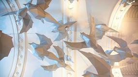 Foto de Esculturas de papel by Empaperart y Antalis, en Casa Decor 2016
