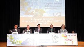 Foto de El presidente de Confemetal, Antonio Garamendi, asegura que las pymes son las auténticas generadoras de valor añadido de esta sociedad