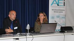 Foto de Sesión de networking del Clúster Catalán de Textiles Técnicos y Asamblea General de la AEI Tèxtils