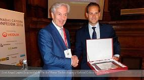Fotografia de Veolia Water Technologies entrega el premio de Innovaci�n y Sostenibilidad en Miner�a de la C�tedra Confedem
