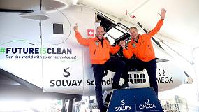 Foto de Solar Impulse aterriza en Sevilla