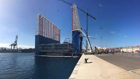 Picture of MC Spain suministrar� 300 toneladas de aditivos para construir 7 cajones flotantes de hormig�n en la ampliaci�n de Los M�rmoles