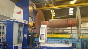 Foto de Talleres Sanper instala un centro de mecanizado de 5 ejes TOS Varnsdorf