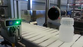 Foto de Control de calidad por visión artificial en el aplicado de tapones