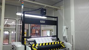 Foto de Control de calidad por visión artificial en la impresión de etiquetas