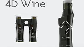 Foto de El proyecto '4D Wine' de la Universidad de Mondragón, ganador del concurso de diseño MasterGlass de Vidrala