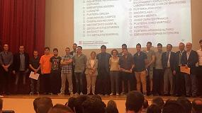 Picture of Se grad�a la primera promoci�n de alumnos en FP Dual de Adecat