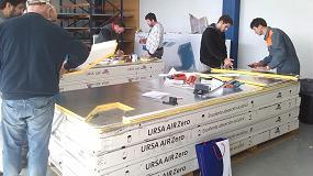 Fotografia de 1.300 profesionales en los cursos de Ursa para la construcci�n de conductos de climatizaci�n