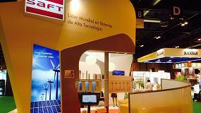 Foto de Saft anuncia el cambio de oficina en España y su participación en Matelec Industry 2016