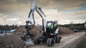 Foto de Bobcat presenta la nueva excavadora de ruedas E57W de Fase IIIB