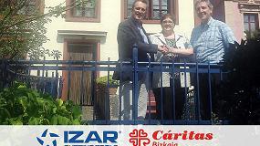 Foto de Izar colabora con Cáritas para ayudar a las personas sin hogar