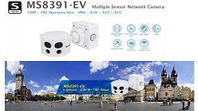 Foto de Vivotek anuncia el inminente lanzamiento de su cámara IP Multi Sensor