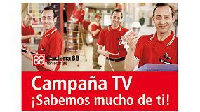 Foto de Cadena 88 emite un campaña publicitaria en televisión