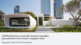 Foto de Siemens protege el primer edificio de oficinas del mundo producido por una impresora 3D