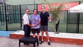 Foto de Cabañero celebra su II Torneo de Pádel