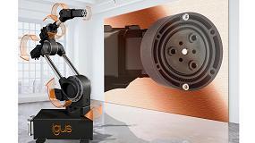 Foto de Nuevo engranaje de transmisión armónica fabricado en plástico para robots económicos de 6 ejes