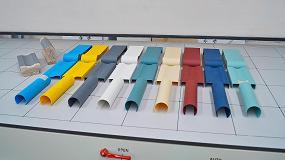 Foto de Protecciones de PVC para molduras y puertas
