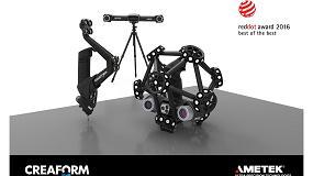 Picture of La nueva l�nea de control de calidad de Creaform gana el premio Red Dot