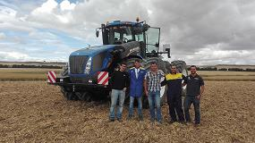 Foto de Primer New Holland T9 vendido en Espa�a