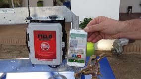 Foto de Un sistema para controlar el riego del pívot desde una aplicación móvil, premio a la novedad en Fercam