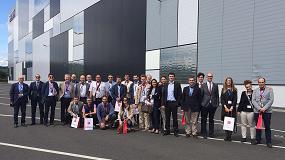 Foto de Directivos de logística españoles visitan las instalaciones más avanzadas de Swisslog en Europa