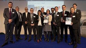 Foto de Saft recibe el premio al mejor rendimiento en los programas Airbus