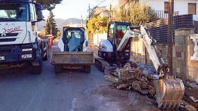 Foto de Transports i Excavacions Jocar constata las ventajas de trabajar con la miniexcavadora Bobcat E85
