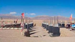 Foto de Progreso de la Ingenier�a de Propiedad de Aries para el proyecto termosolar Delingha