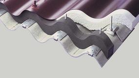 Foto de Onduclair Renov, la solución de Onduline para impermeabilizar y aislar cubiertas de fibrocemento sin desmontarlas