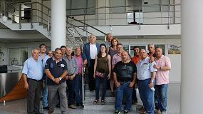 Foto de El consejo rector del Grupo Ceolpe visita las instalaciones del Grupo Pieralisi en Italia