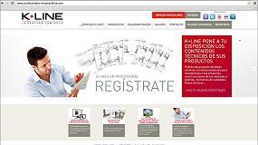 Fotografia de K-Line presenta su nueva web para profesionales