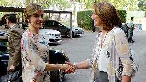 Picture of La Reina Letizia entrega los Premios Nacionales de la Moda