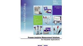 Foto de Mettler Toledo presenta su nuevo catálogo de productos de instrumentación analítica en proceso