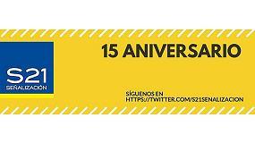 Fotografia de S21 Se�alizaci�n celebra su 15� aniversario