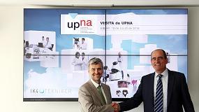 Foto de IK4 y la UPNA se al�an para facilitar el acceso de nuevos titulados en ingenier�a al mercado laboral