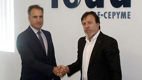 Foto de Feda e Itecam firman un convenio para proyectos de I+D+i de las empresas de Albacete