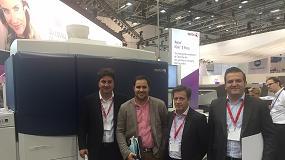 Picture of QP Quality Print y Cribsa visitan el stand de Xerox en Drupa 2016