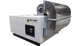 Foto de Met Mann lanza un generador de secado de biomasa forestal a 150º
