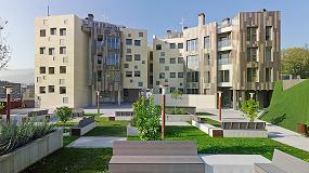 Foto de Relazzo de Rehau, en el nuevo residencial Begoñalde de Bilbao