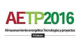 Foto de IV edici�n de la jornada t�cnica �Almacenamiento energ�tico: Tecnolog�as y proyectos�