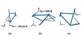 Foto de Dise�o y fabricaci�n en fibra de basalto y de carbono de un cuadro de bicicleta de competici�n