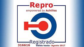 Foto de Busch Ibérica renueva su certificación en Repro (Registro de Proveedores)