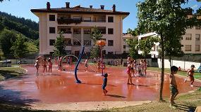 Foto de El municipio de Antzuola inaugura con �xito un Splashpad de Vortex