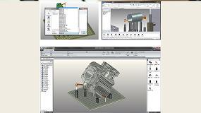 Foto de FixtureBuilder, de Renishaw, permite crear configuraciones de fijación de pieza