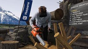 Foto de Husqvarna lanza el campeonato de desrame con motosierra de realidad virtual