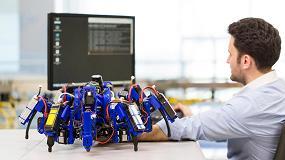 Foto de Siemens desarrolla arañas robóticas para agilizar el proceso de impresión 3D