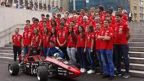 Foto de Brammer confía de nuevo en los jóvenes ingenieros y patrocina su equipo FSBizkaia